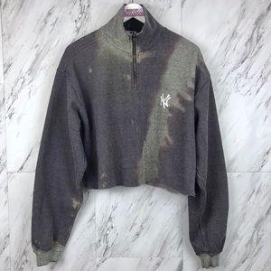 Vintage Distressed New York Yankees Sweatshirt